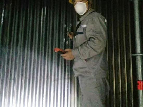 锅炉金属喷涂