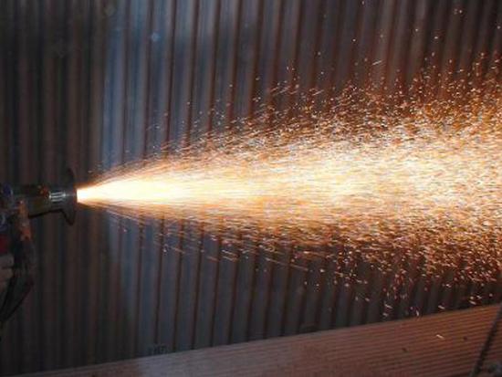 流化床锅炉防磨喷涂