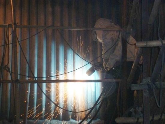 锅炉受热面金属喷涂